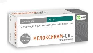 МЕЛОКСИКАМ-OBL (Мелоксикам)