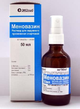 МЕНОВАЗИН (Бензокаин+Прокаин+Рацементол)