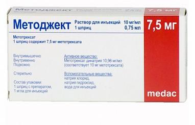 МЕТОДЖЕКТ (Метотрексат)
