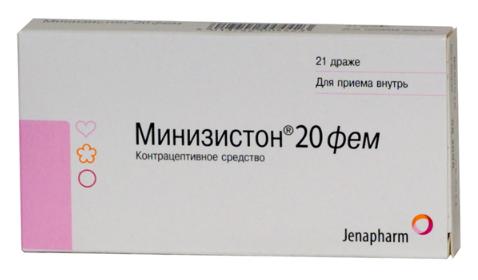 МИНИЗИСТОН (Левоноргестрел+Этинилэстрадиол)