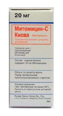 МИТОМИЦИН-С КИОВА (Митомицин)