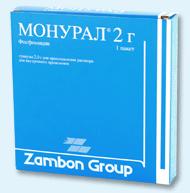 МОНУРАЛ (Фосфомицин)