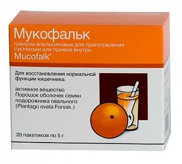 МУКОФАЛЬК (Подорожника овального семян оболочка)