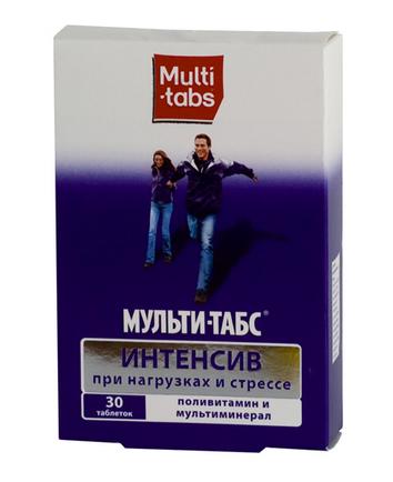 МУЛЬТИ-ТАБС ИНТЕНСИВ (Поливитамин+Мультиминерал)