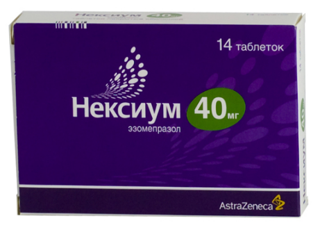 НЕКСИУМ таб. п/обол. 40мг №14