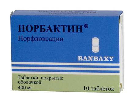 НОРБАКТИН (Норфлоксацин)