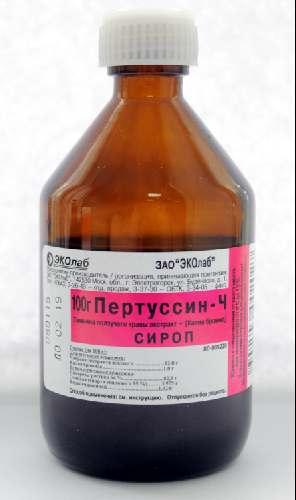 ПЕРТУССИН-Ч (Тимьяна ползучего травы экстракт+Калия бромид)