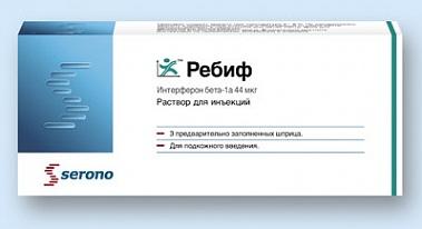 РЕБИФ (Интерферон бета-1b)