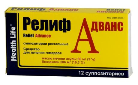 РЕЛИФ АДВАНС (Бензокаин)