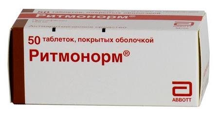РИТМОНОРМ (Пропафенон)