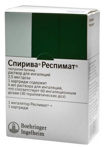 СПИРИВА РЕСПИМАТ (Тиотропия бромид)