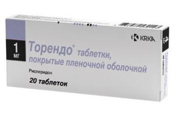 ТОРЕНДО (Рисперидон)
