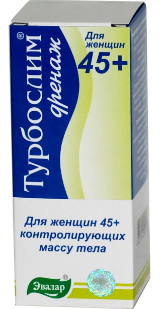 ТУРБОСЛИМ ДРЕНАЖ ДЛЯ ЖЕНЩИН 45+