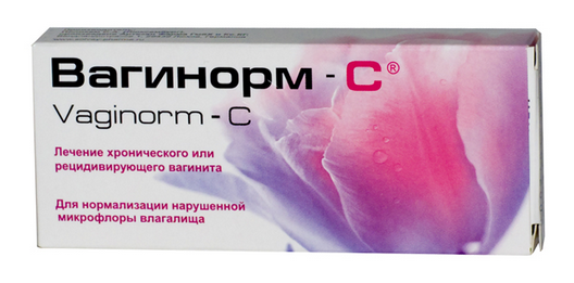 ВАГИНОРМ-С (Аскорбиновая кислота)